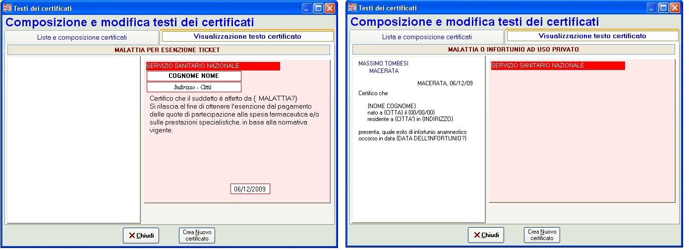 Fabuleux Medimax2000 - Certificati predefiniti XB41